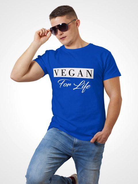 Vegan for life – Vegan Tshirt