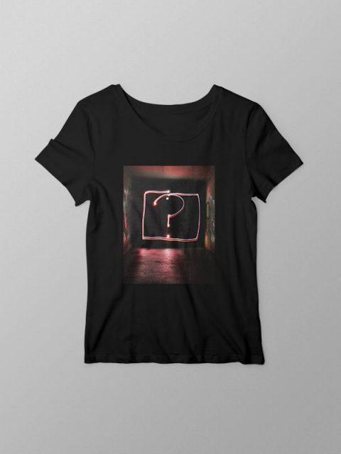 Question Print- Women Tshirt