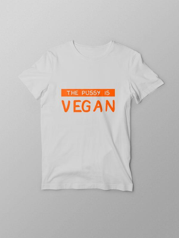 The Pussy – Vegan Tshirt