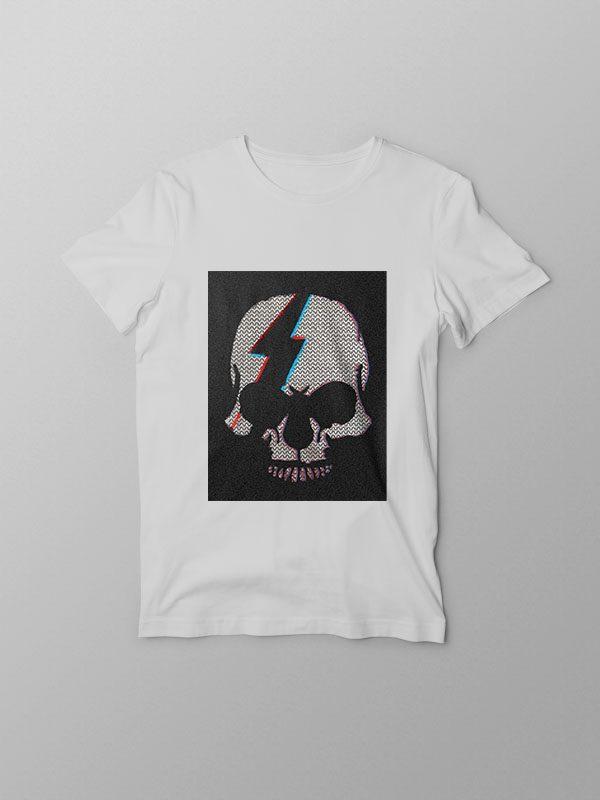 Skull Cracked- Unisex Tshirt