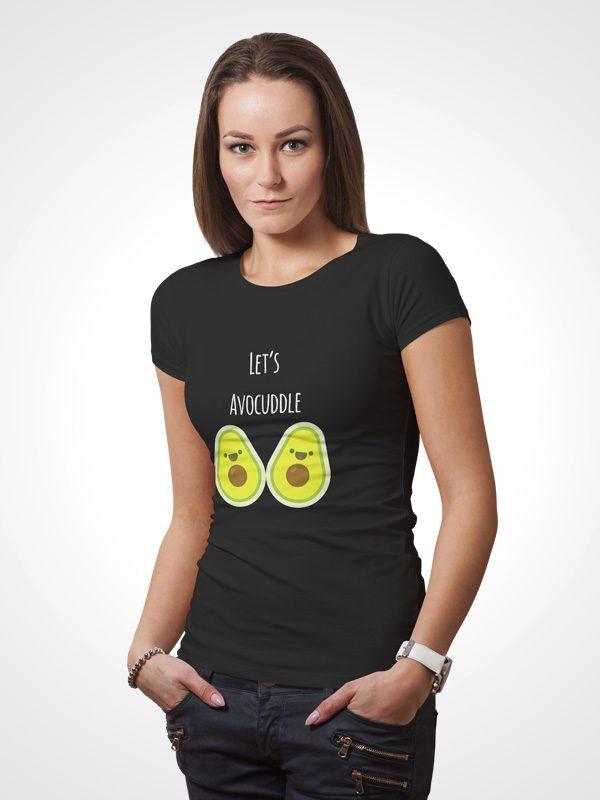 Let's Avocuddle – Women Tshirt