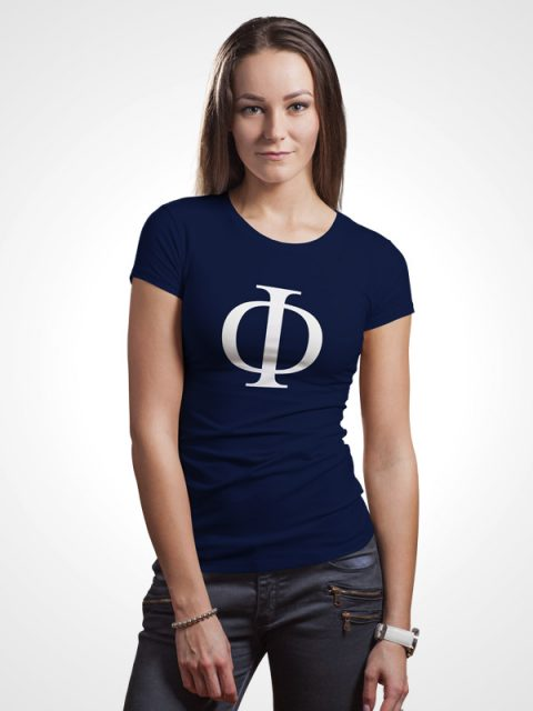 Greek Phi- Women Tshirt
