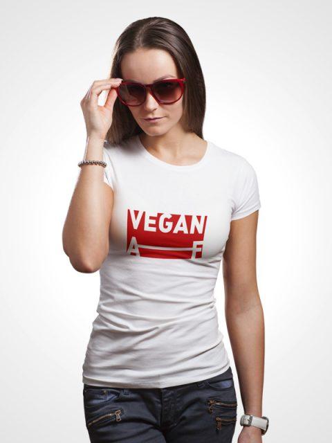 Vegan AF -Women Tshirt
