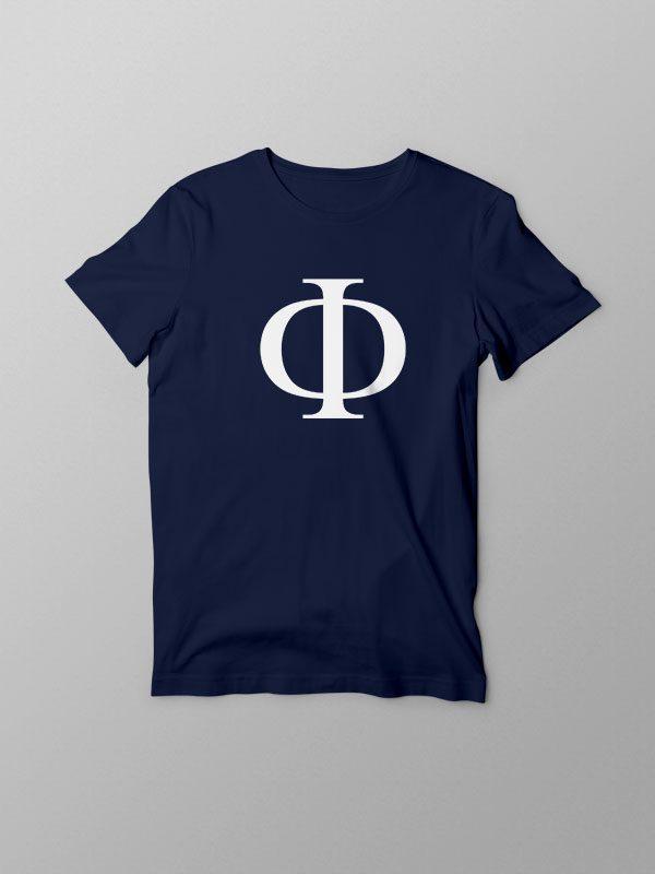 Greek Phi- Unisex Tshirt