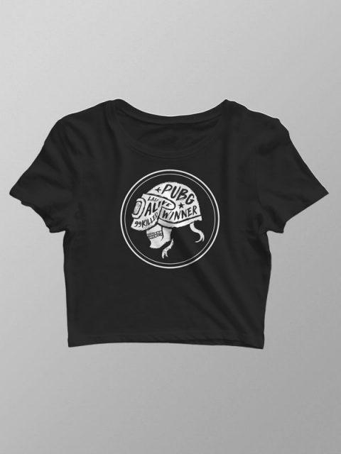 Pubg Skull – Crop Top
