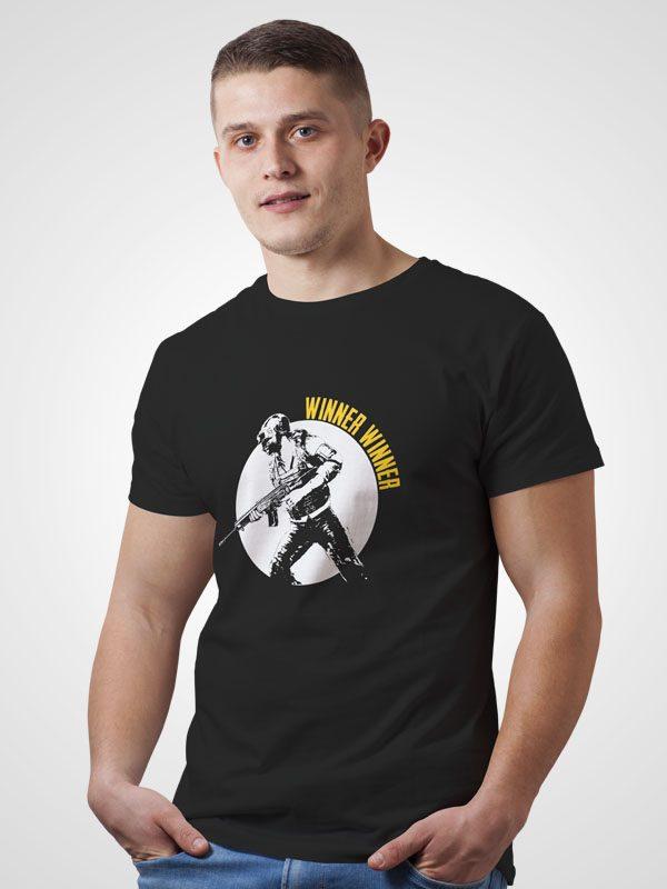 Winner Winner- Black Tshirt