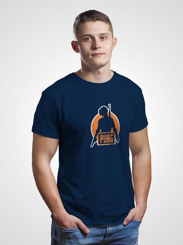 PubG Graphic- Blue Tshirt