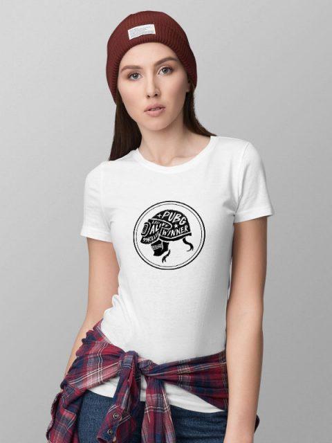 Pubg Skull White- Women's Tshirt