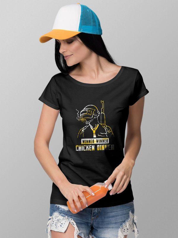 Pubg Line Graphic- Women's Tshirt