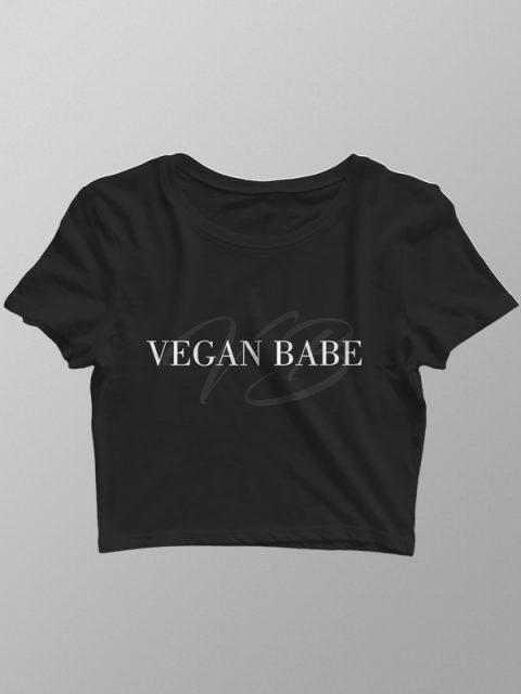 Vegan Babe – Crop Top