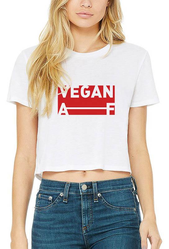 Vegan AF – Crop Top