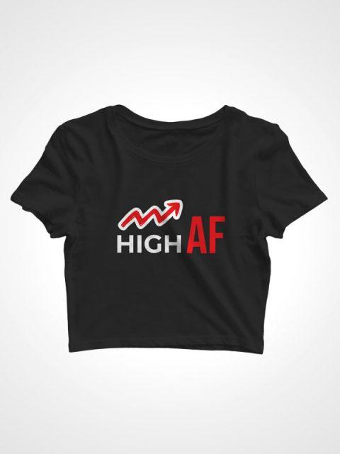 High AF – Crop Top