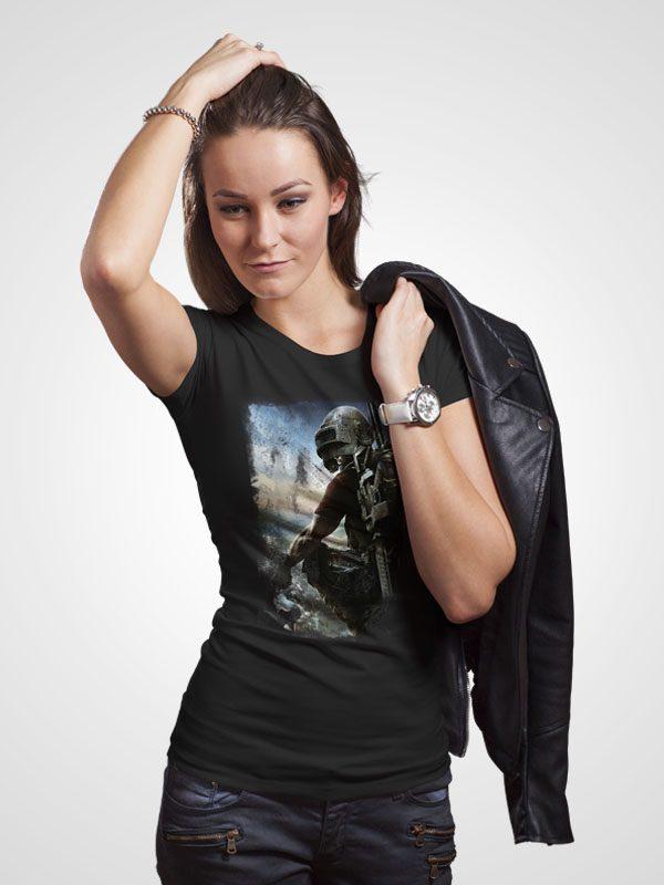 Pubg Poster- Women's Tshirt