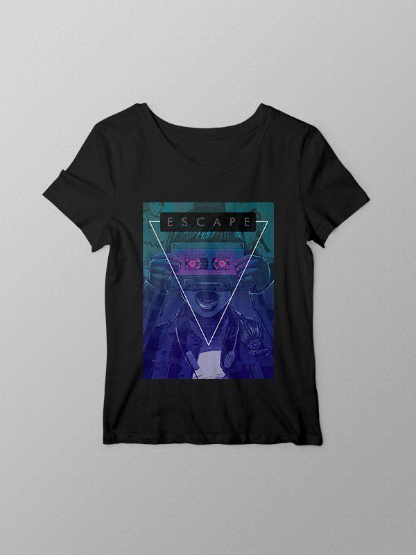 Escape- Women Tshirt