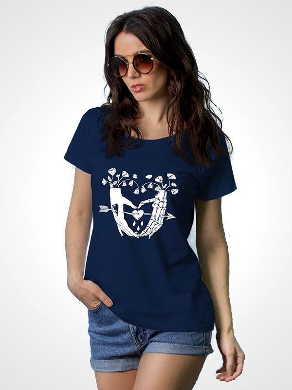 Heart Arrow- Women Tshirt