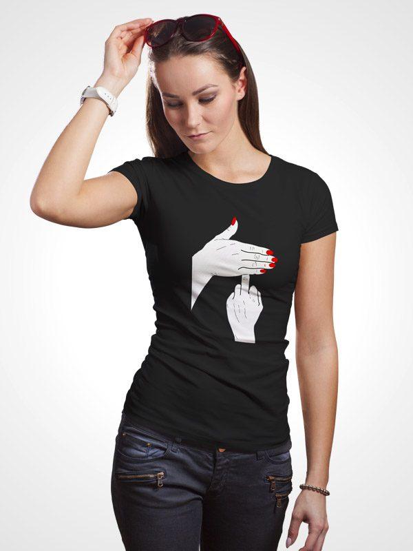 Kindly F Off- Women Tshirt