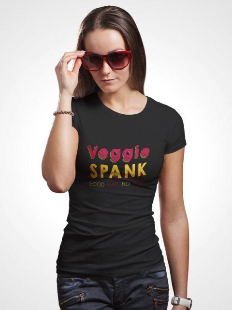 Veggie Spank – Women Tshirt