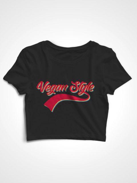 Retro Vegan – Crop Top
