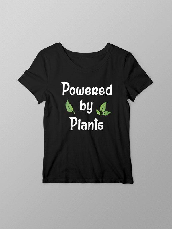 Powered by Plants 2- Women Tshirt