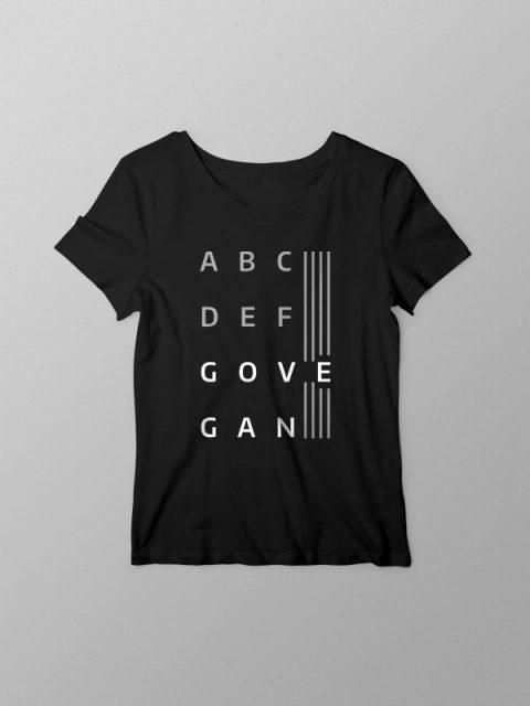 ABC Go Vegan- Women Tshirt