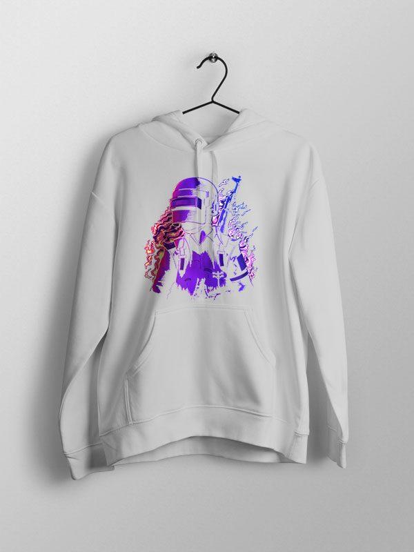 Pubg Neon – Unisex Hoodie Grey