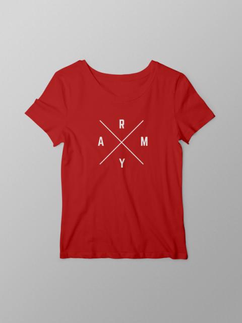 BTS ARMY Sign- Women Tshirt