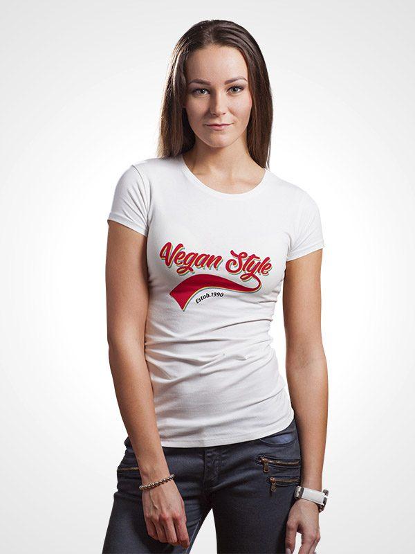 Vegan Retro – Women Tshirt
