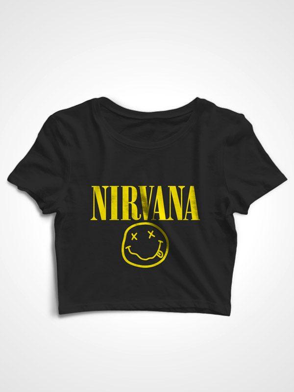 Nirvana – Crop Top