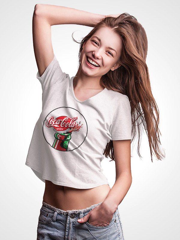 Vintage Coca Cola – Crop Top