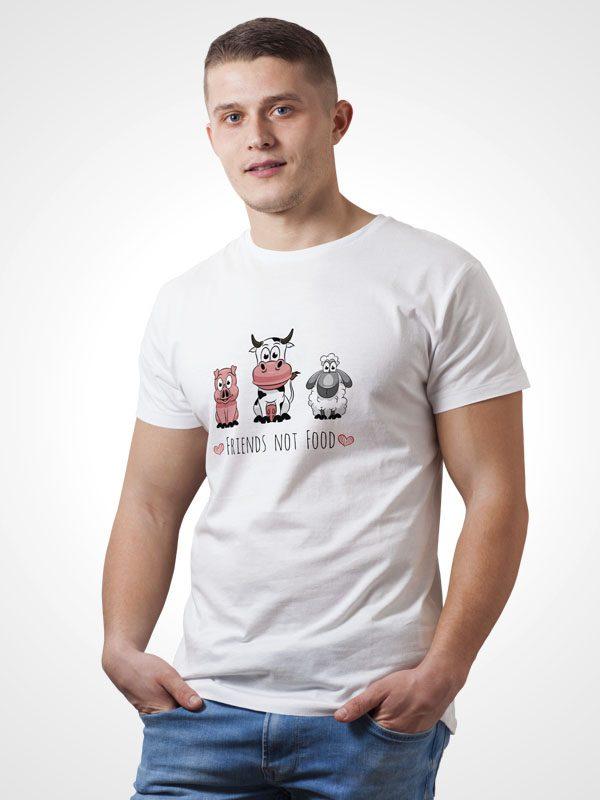Friends not Food – Vegan Tshirt