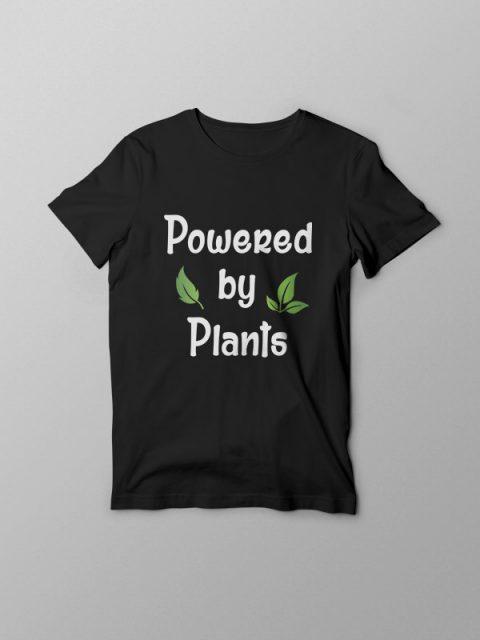 Powered by Plants 2 – Vegan Tshirt