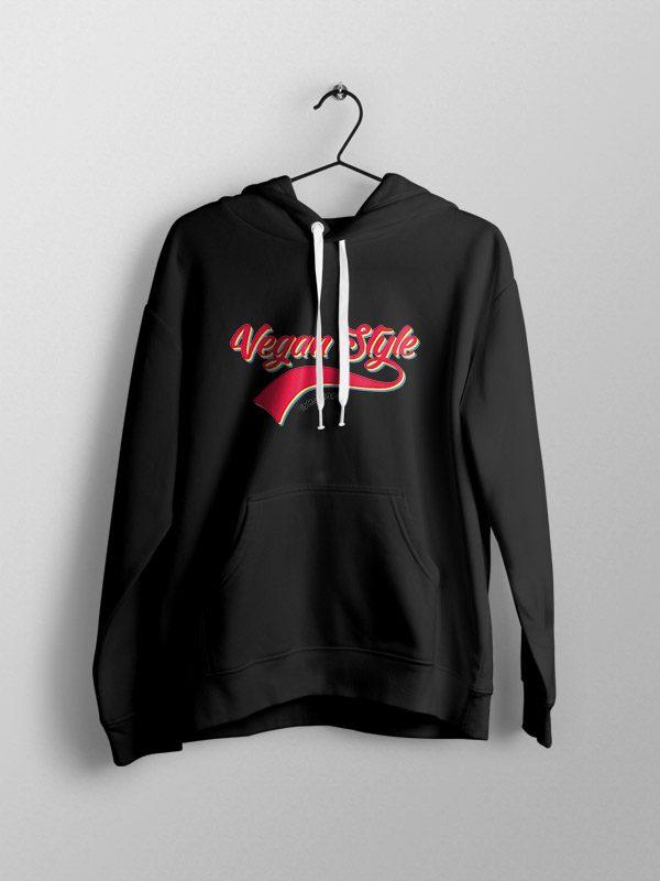 Retro vegan style – Unisex Hoodie