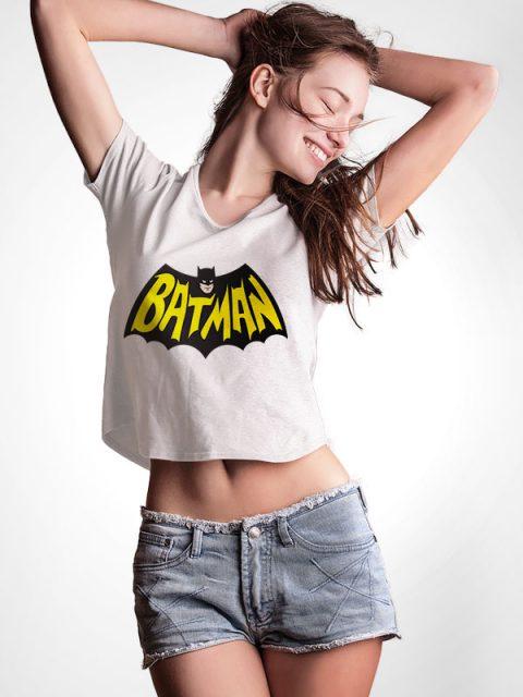 Batman Comic – Crop Top