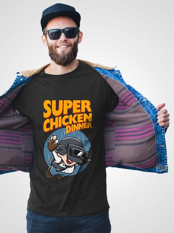 Super Chicken Dinner – Unisex Tshirt