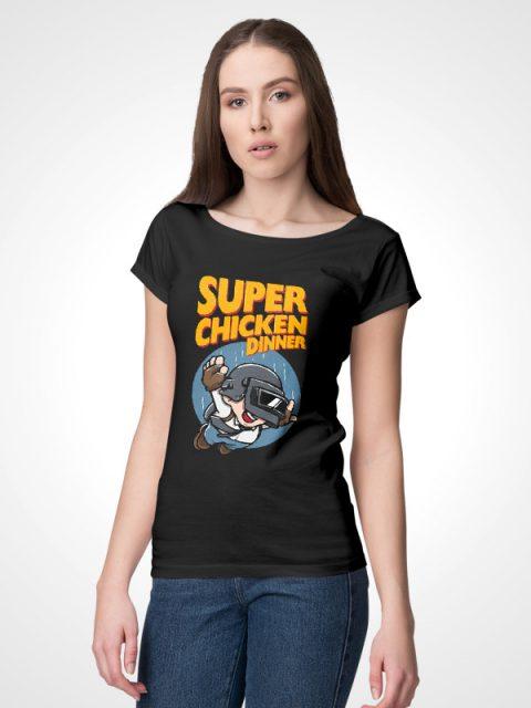 Super Chicken Dinner – Women's Tshirt
