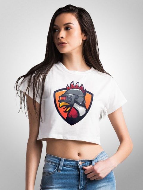Pubg Chicken – Crop Top