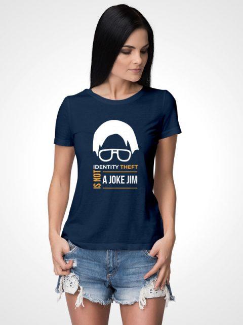 Identity Theft – Women's Tshirt