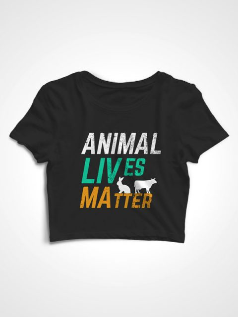 Animal Lives Matter – Crop Top