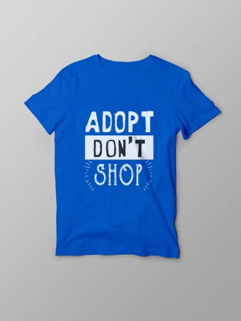 Adopt dont Shop – Vegan Tshirt