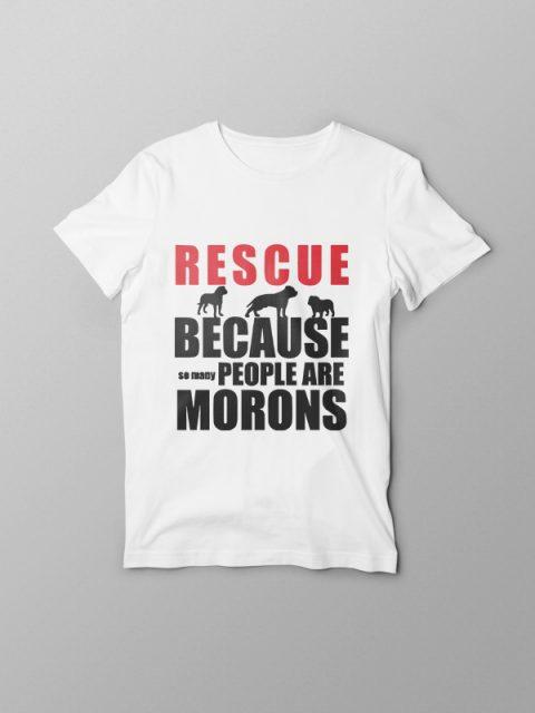 Rescue Animals – Vegan Tshirt