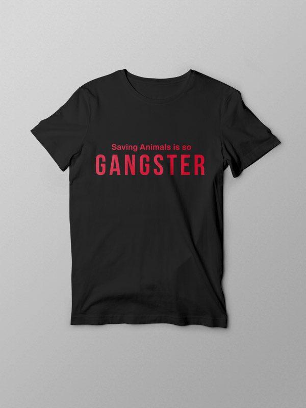 Vegan Gangster- Vegan Tshirt