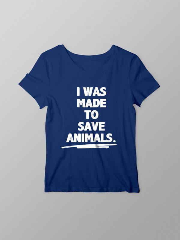 Save Animals – Women Tshirt