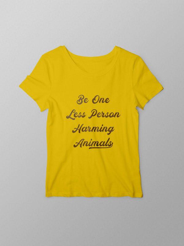 One more less – Women Tshirt