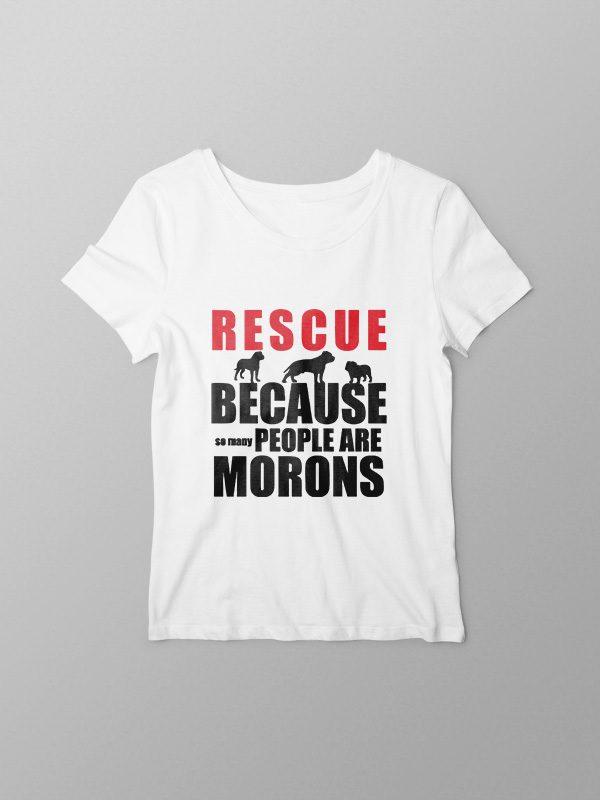 Rescue Animals – Women Tshirt