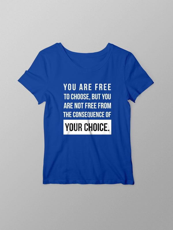 Your Choice Vegan – Women Tshirt
