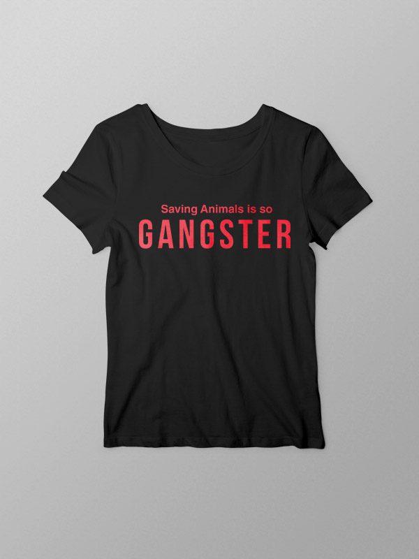 Vegan Gangster – Women Tshirt