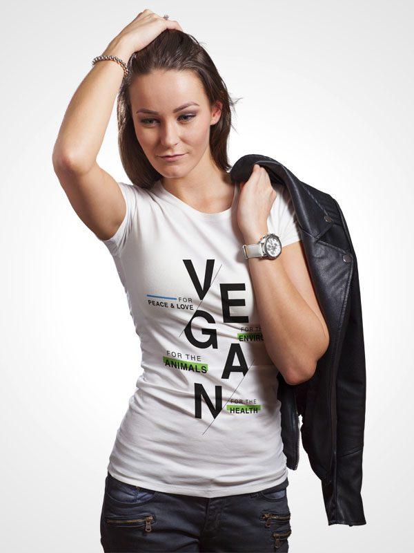 Vegan for Everything – Women Tshirt