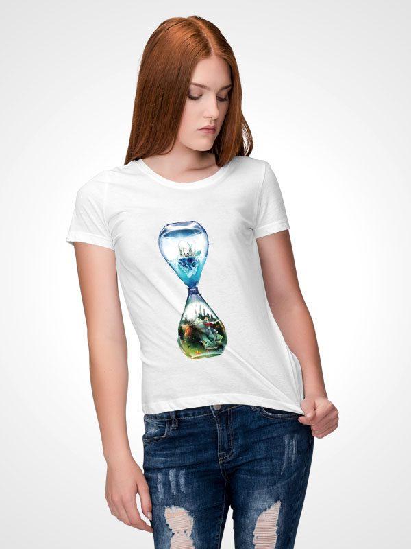 Vegan for Earth- Women Tshirt