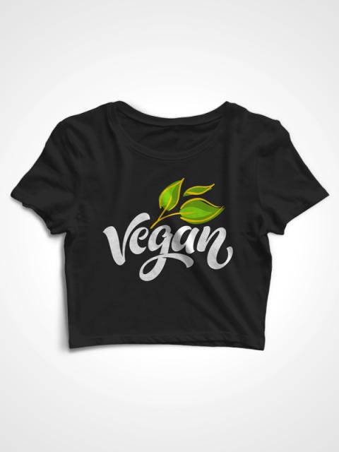 Vegan World – Crop Top