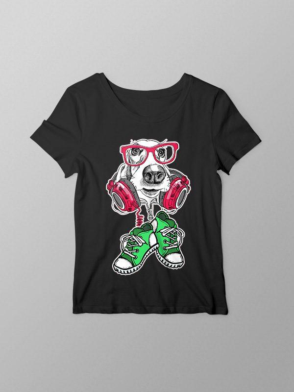 Cool Dog – Women Tshirt